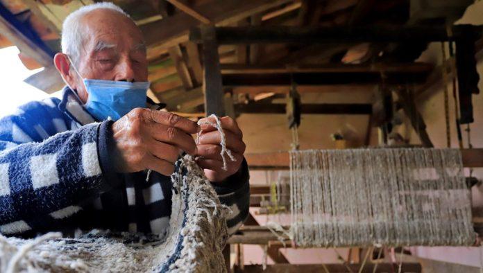 Cotorinas, arte textil en peligro de desaparecer