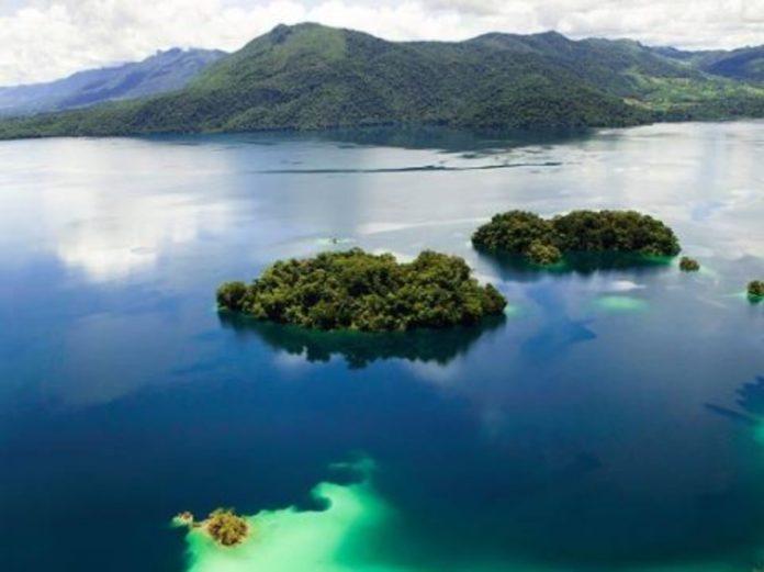 ¡Bella y majestuosa! Así es la Laguna de Miramar en la Selva Lacandona