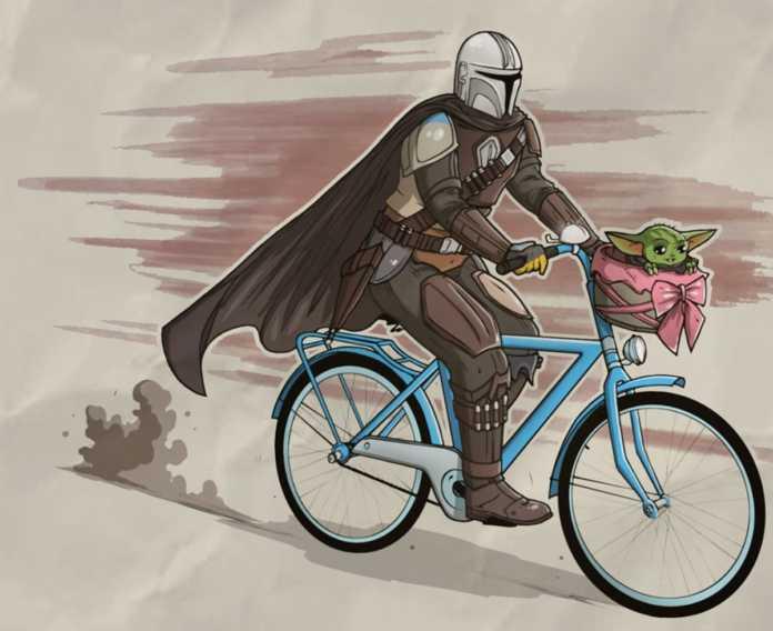 Lánzate a la rodada ciclista de otra galaxia con Baby Yoda, en la CDMX