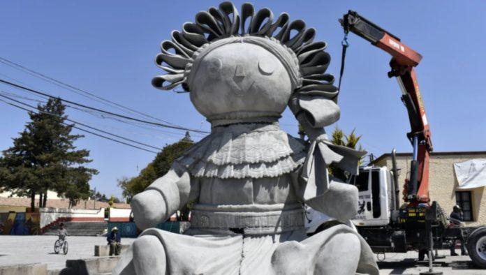 Muñeca Lele cuenta con macroescultura en Querétaro