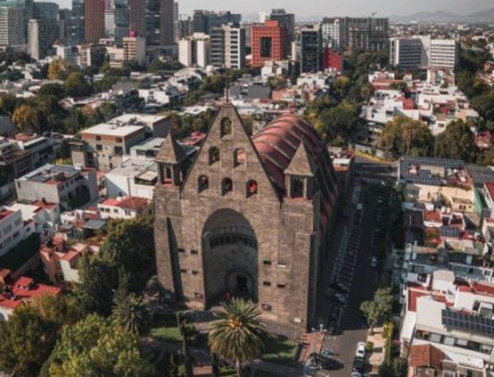 Parroquia de San Agustín, una de las más fotografiadas de la CDMX