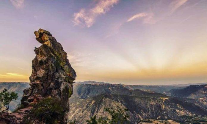 Peña del Aire, el imponente mirador de Huasca de Ocampo