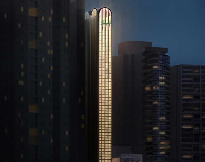 Así será el Pencil Tower Hotel, el edificio más estrecho de Australia