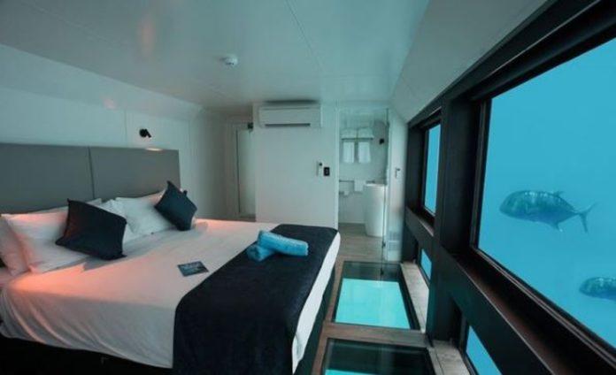 Reefsuites: el hospedaje submarino de Australia para dormir entre peces
