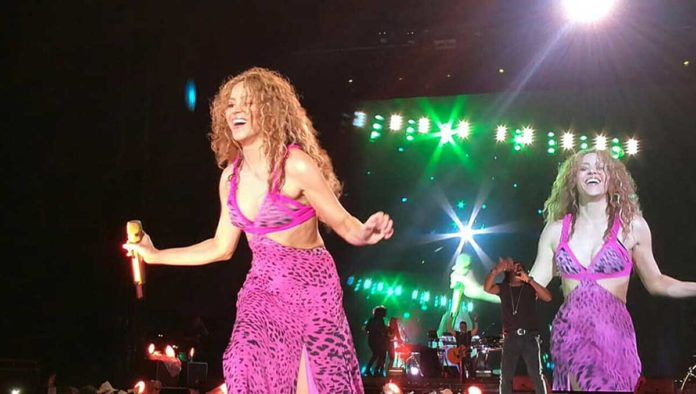 Shakira, una colombiana enamorada de México