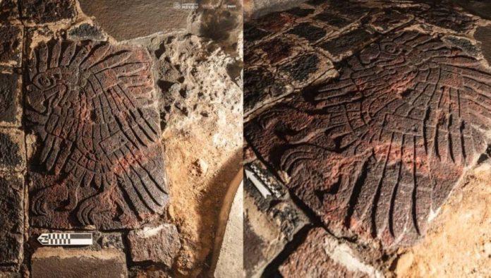 Templo Mayor: hallan bajorrelieve que puede revelar más información sobre la cultura mexica
