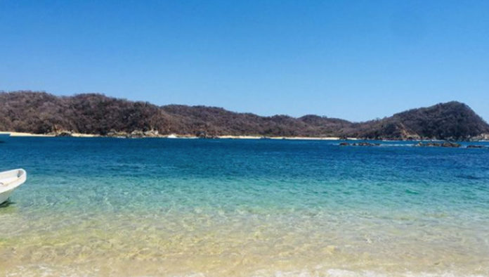 Bahía Maguey, un rinconcito paradisiaco en Huatulco