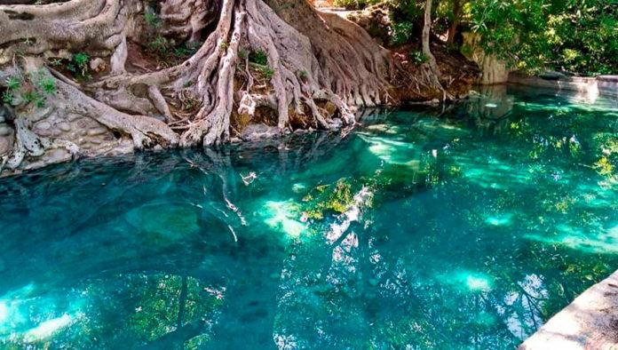 Las Tortugas, uno de los balnearios más fotografiables de Morelos