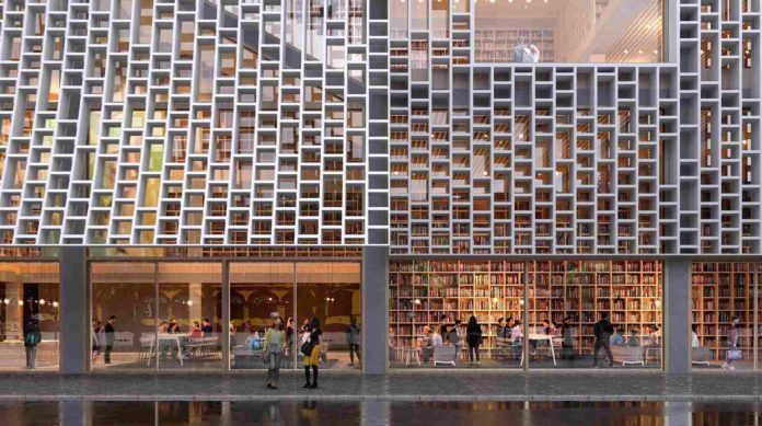 Biblioteca central de Macao, una oda literaria a la arquitectura