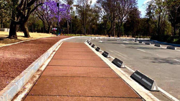 Bosque de Chapultepec ciclovía inteligente