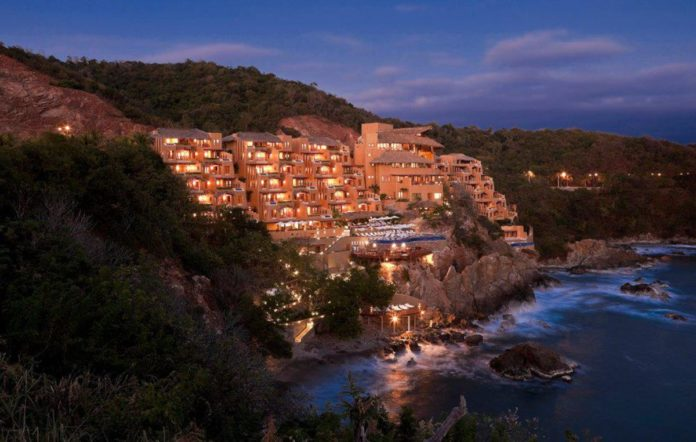 Cala de Mar, un acantilado secreto en Ixtapa