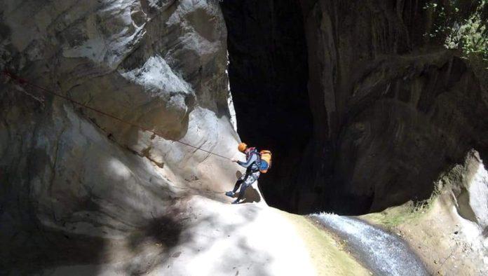 Cañón del Infiernillo entre Hidalgo y Querétaro