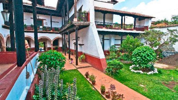 Casa de los Once Patios, presencia arquitectónica múltiple de Pátzcuaro
