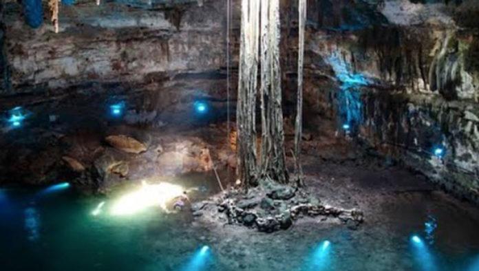 Cenote Samulá: los dos niveles del inframundo