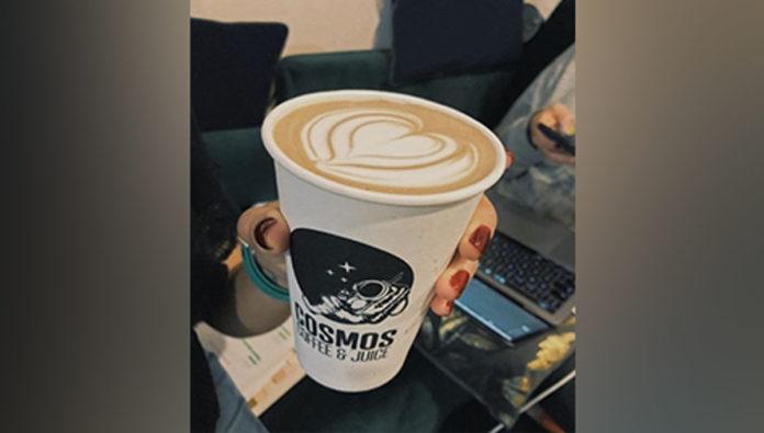 Cosmos Coffee & Juice, un café del espacio exterior