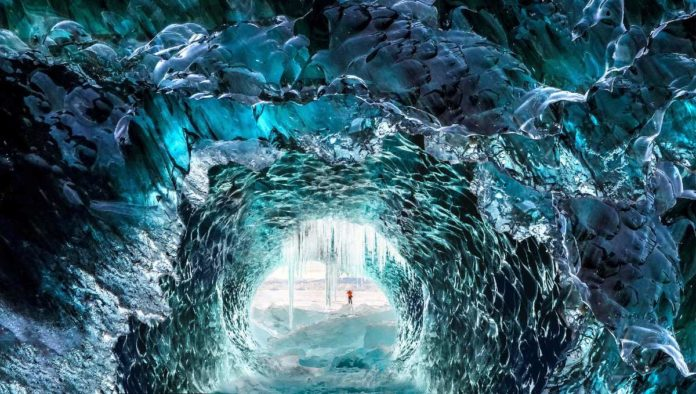 Cuevas de hielo: metamorfosis que ofrece espectáculo increíble en Islandia