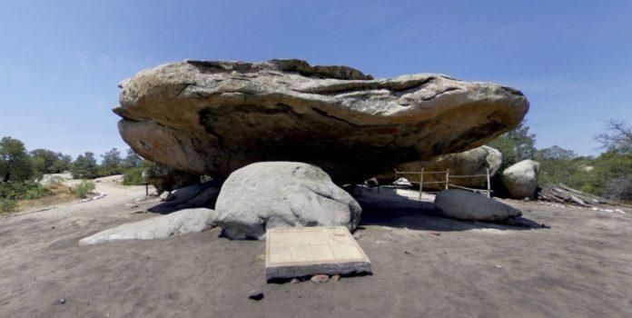 El Vallecito, el más grande conjunto de arte rupestre en Baja California