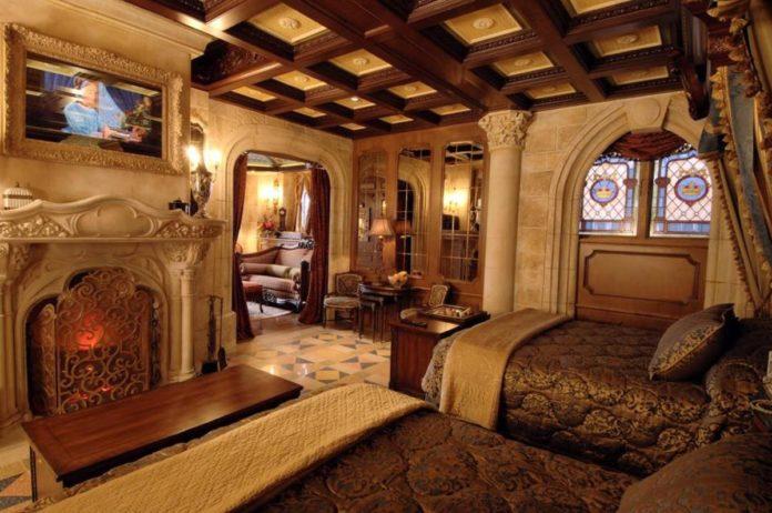 ¡Impresionante! Así es la habitación secreta del Castillo de Cenicienta