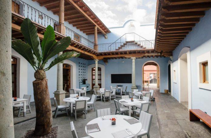 Hotel Azul: un tributo artístico a la cultura oaxaqueña