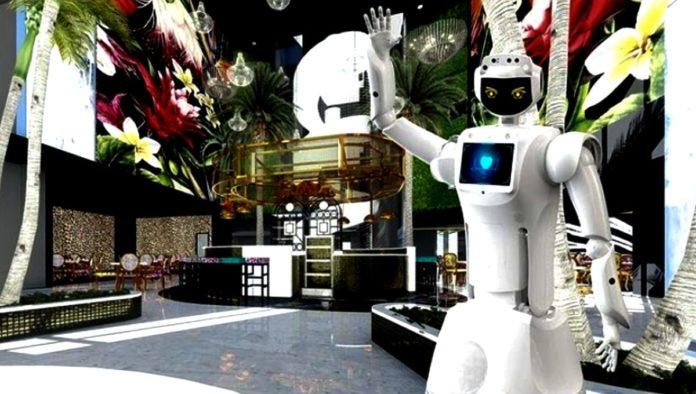 Hotel Sky: robots a tu servicio en este complejo turístico de África