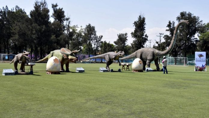 IztapaSauria, el nuevo parque de dinosaurios de la CDMX
