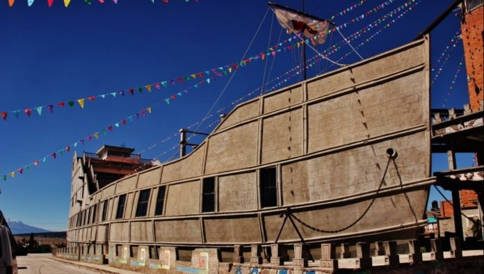 La Barca de la Fe, templo sui géneris en Tlaxcala