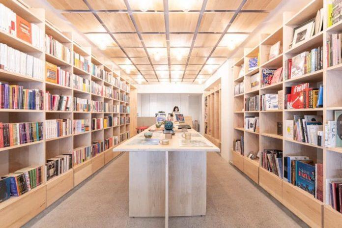 La Increíble, una librería que parece museo de arte moderno