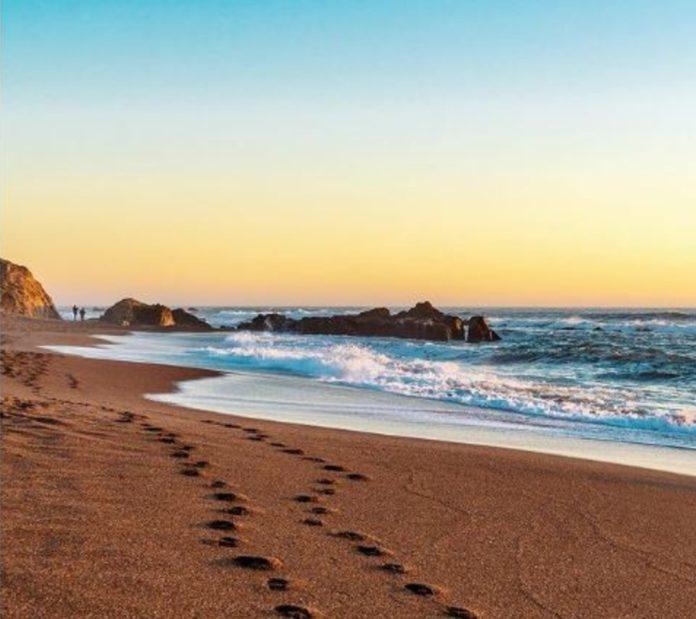 Moonstone Beach, una de las playas más lindas de Estados Unidos