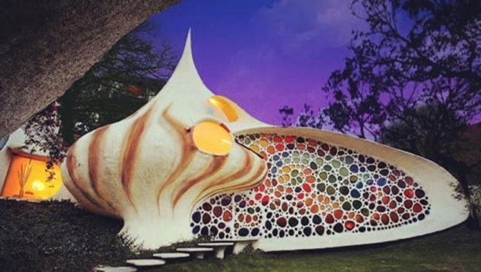 Casa Nautilus, vive dentro de un caracol