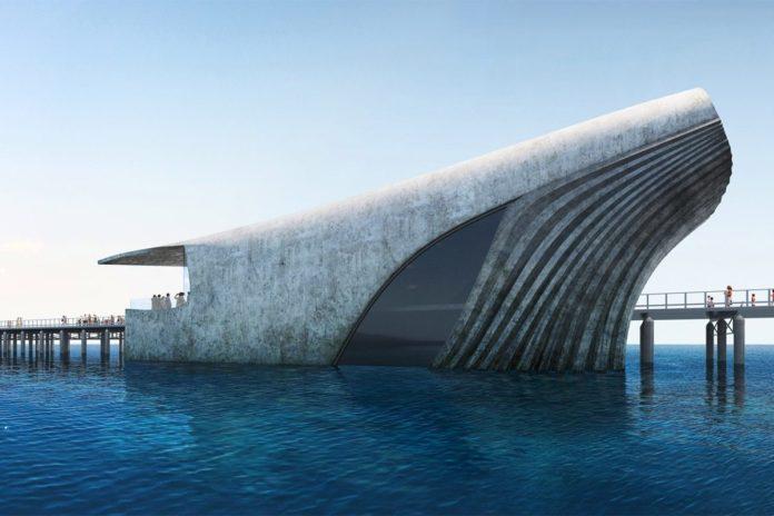Australia, sede de observatorio marino con forma de ballena