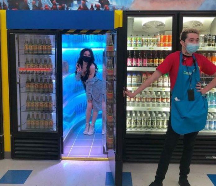 Omega Mart, un supermercado psicodélico y muy pop