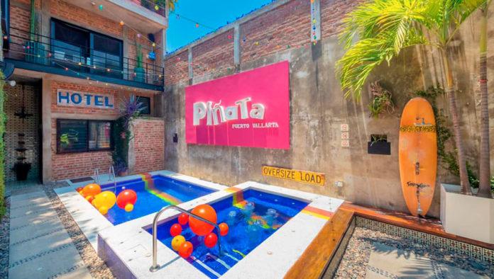 Piñata PV Gay Hotel: las fiestas son para todo el año