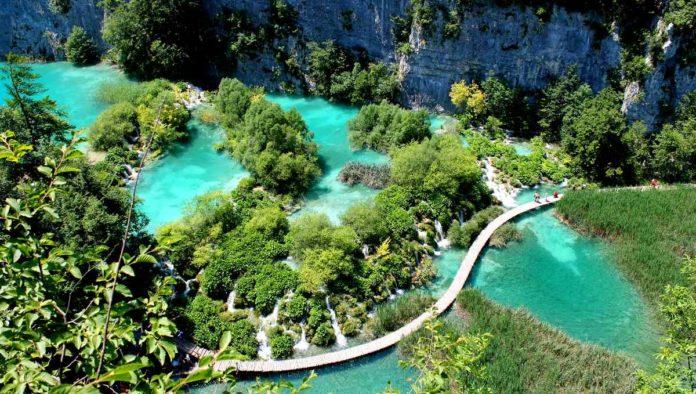 Plitvice un Parque Nacional en Croacia