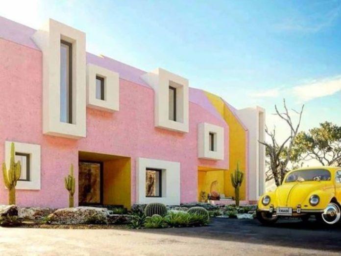 Sonora House, la elegancia del color que contrasta con el desierto