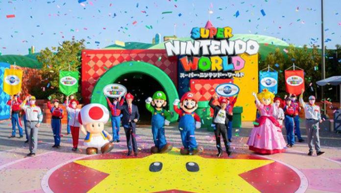 Super Nintendo World, un parque temático que todo gamer debe conocer