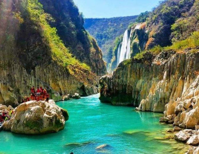 Tamul, la belleza de la Huasteca Potosina hecha cascada