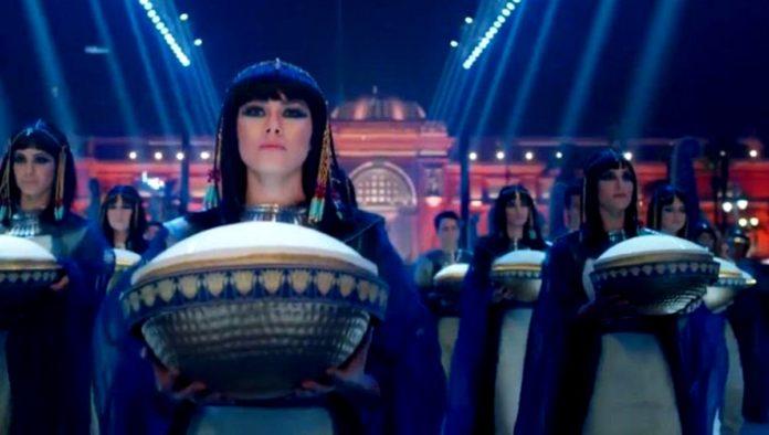 Egipto Desfile Dorado