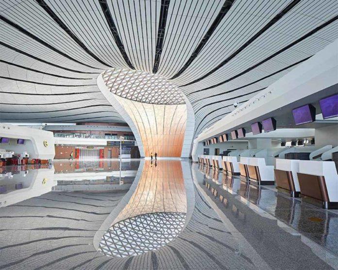 Aeropuerto Internacional Beijing Daxing, una maravilla arquitectónica