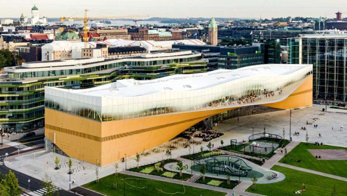 Oodi, biblioteca central de Helsinki