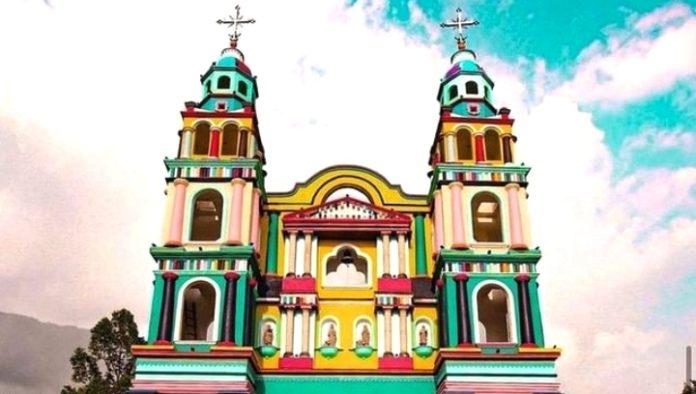 Iglesia del Señor de Tila en Tabasco