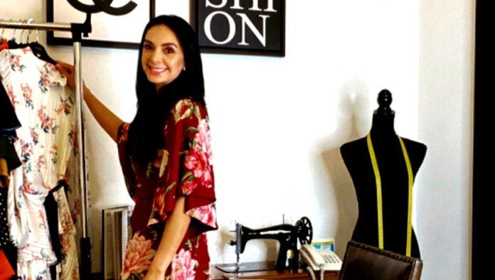 Jasive Fernández, diseñadora de modas