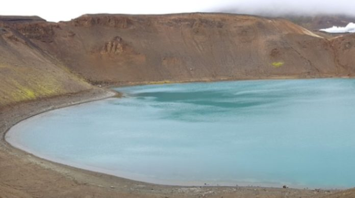 Laguna de Aljojuca, el cuerpo acuífero que se camufla durante el invierno