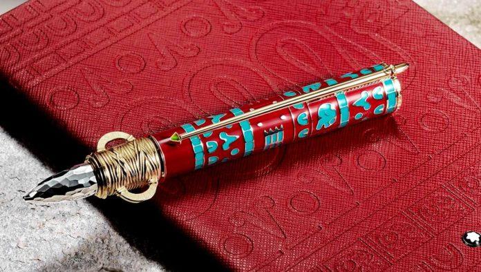 Montblanc colección Moctezuma