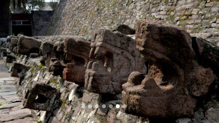 pirámide de Tenayuca en Tlanepantla