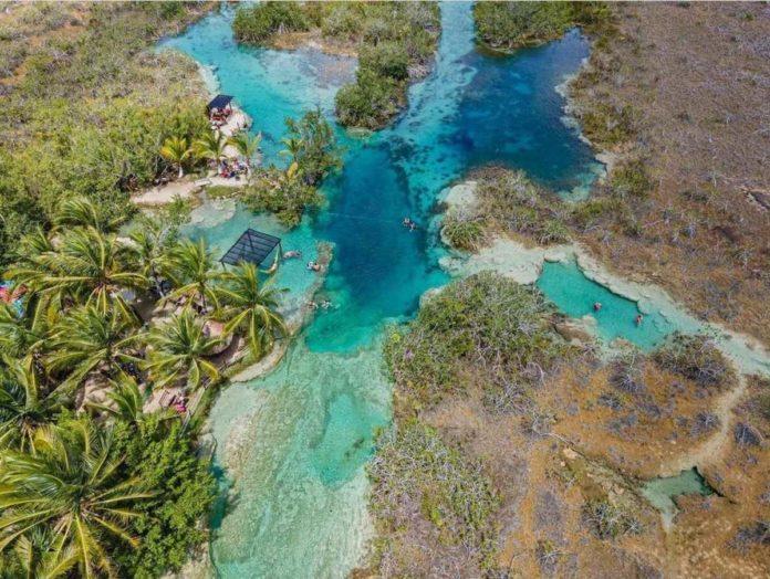 Rápidos de Bacalar, un rincón de aventura y descanso entre lagunas