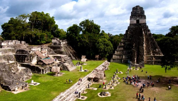 Tikal, zona arqueológica de Guatemala