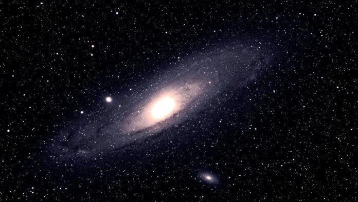 antigua galaxia en espiral