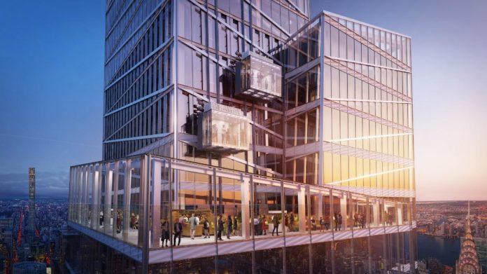 El vertiginoso ascensor de cristal de Nueva York que te dejará sin aliento
