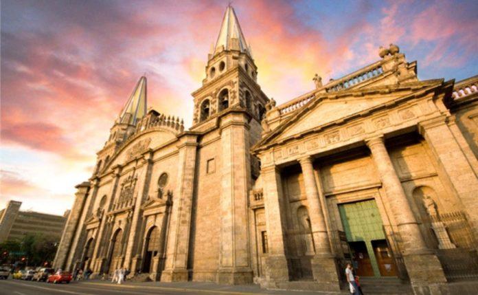Catedral de la boda de Canelo Álvarez y Fernanda Gómez