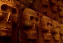 El Muro de los Muertos en Ajijic en Jalisco
